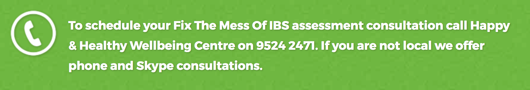 IBS-assessment