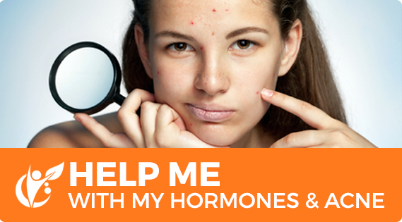 Help me with my hormones and acne