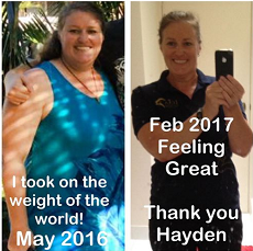 Lyndi Lost 20kg